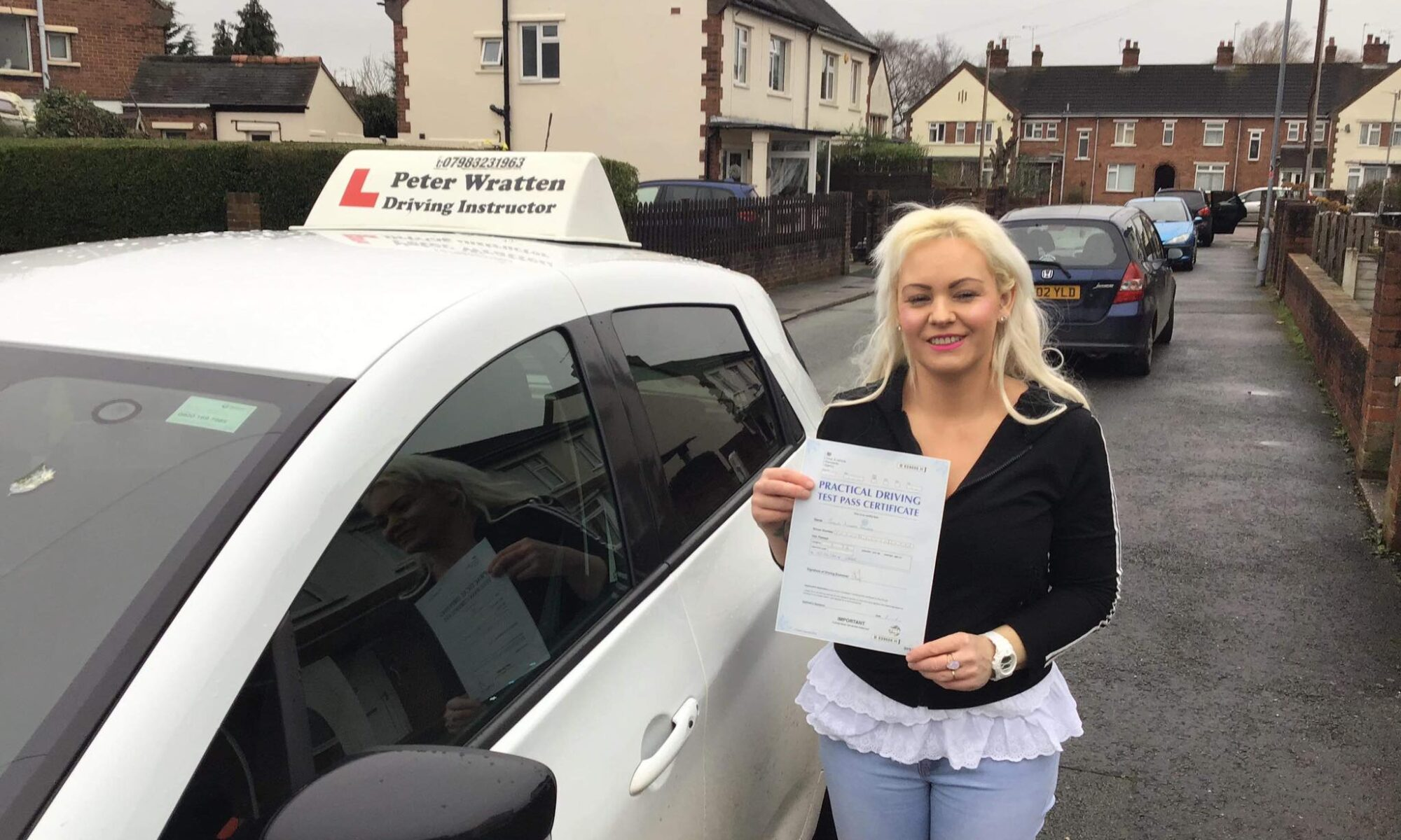 Peter Wratten automatic driving instructor