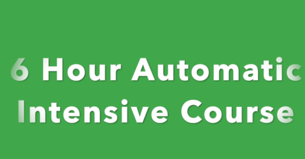 6 Hour Intensive Driving Course