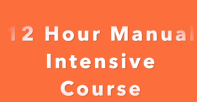 12 Hour Manual Intensive Course