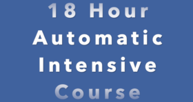 18 Hour Automatic Intensive Driving  Course