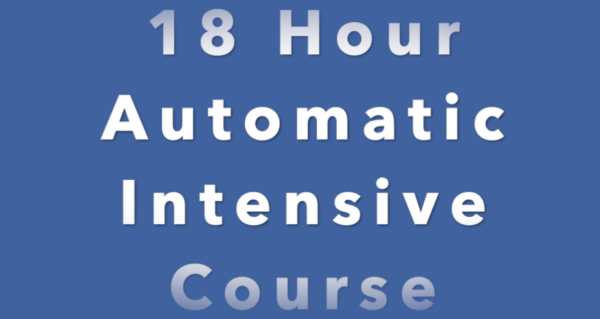 18 Hour Intensive Driving Course