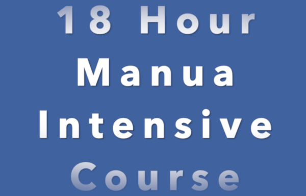 18 Hour Manual Intensive  Course
