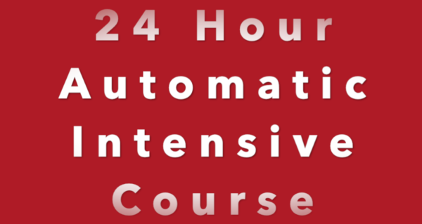 24 Intensive Driving Course