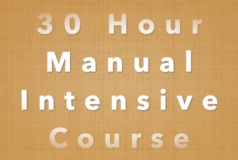 30 Hour Manual Intensive Course
