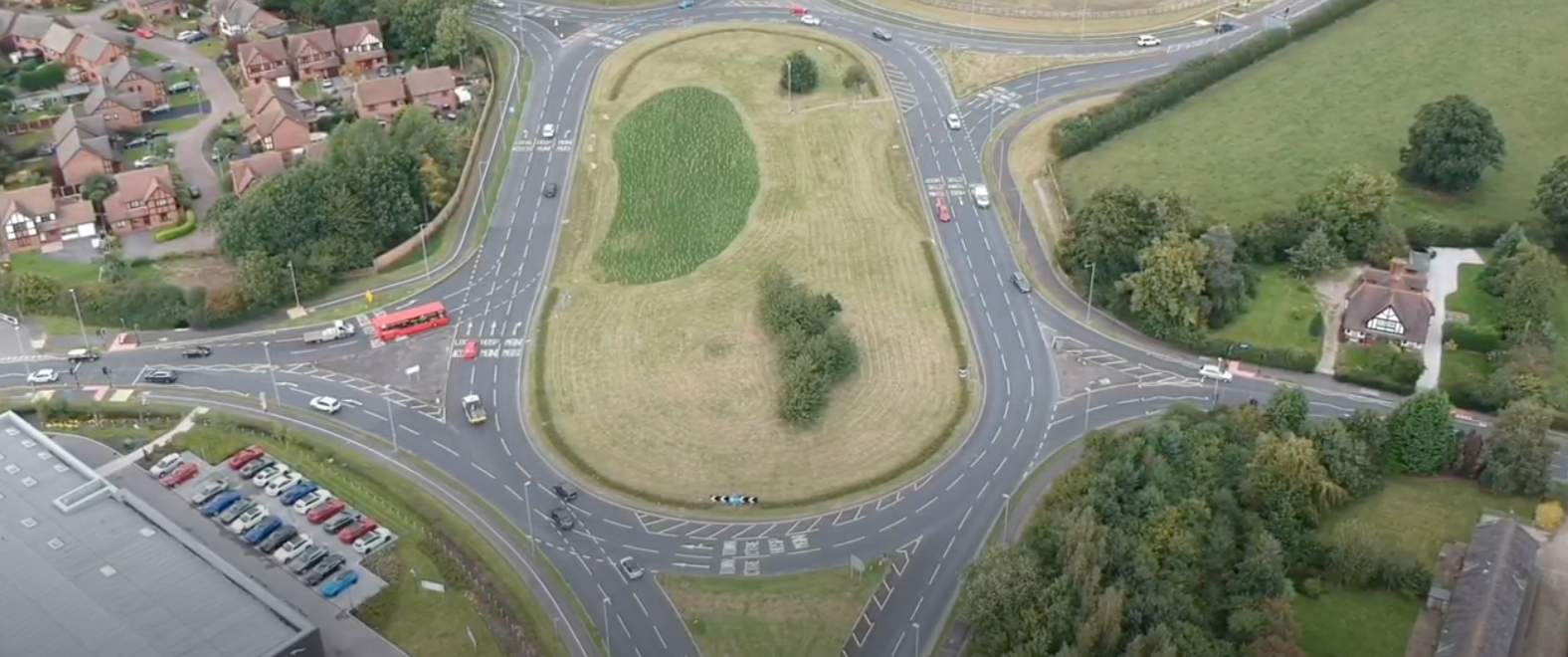Crewe Green Roundabout