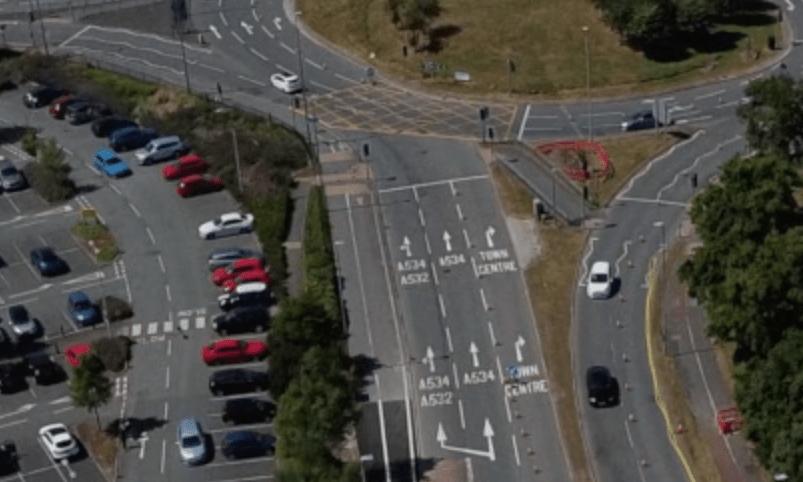 B & Q Roundabout