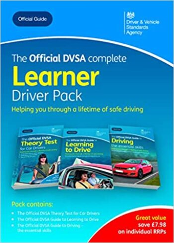The official DVSA complete learner driver pack Paperback 3